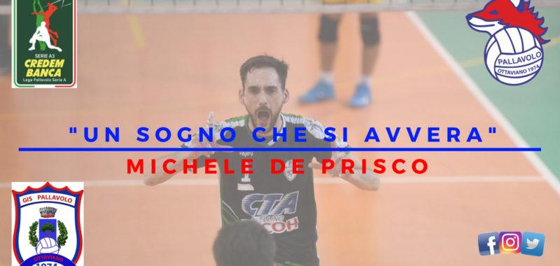"""Michele """"Mike"""" De Prisco è un nuovo giocatore della Gis Ottaviano! """" È un sogno che si avvera"""""""