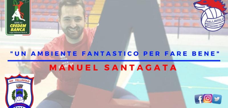 """Confermato il Vice-Coach Santagata:"""" Un ambiente fantastico per fare bene!"""""""