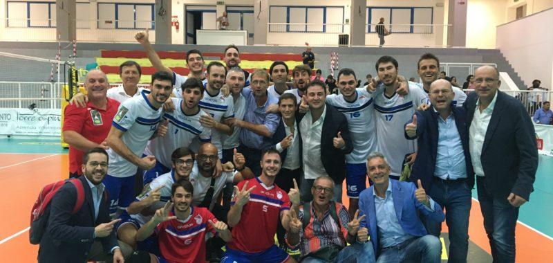 Serie A3 Credem Banca: Che impresa della Gis Ottaviano! Vince all'esordio 3-1 a Leverano