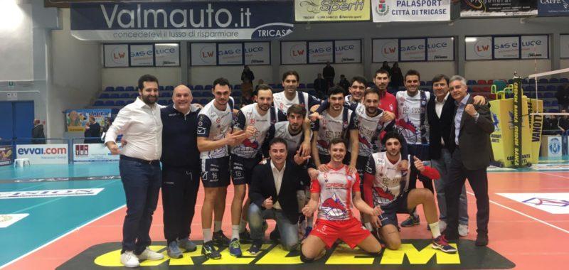L'Emra Foods Ottaviano risorge a Tricase! Battuta l'Aurispa Alessano 3-0