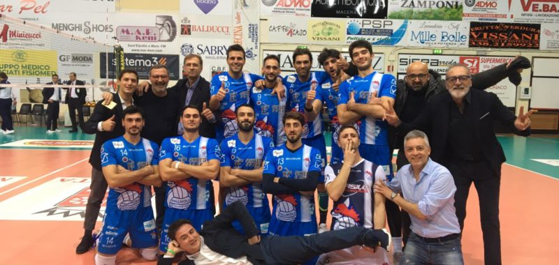 Impresa dell'Emra Foods Ottaviano! A Macerata batte 3-1 la Menghi Shoes