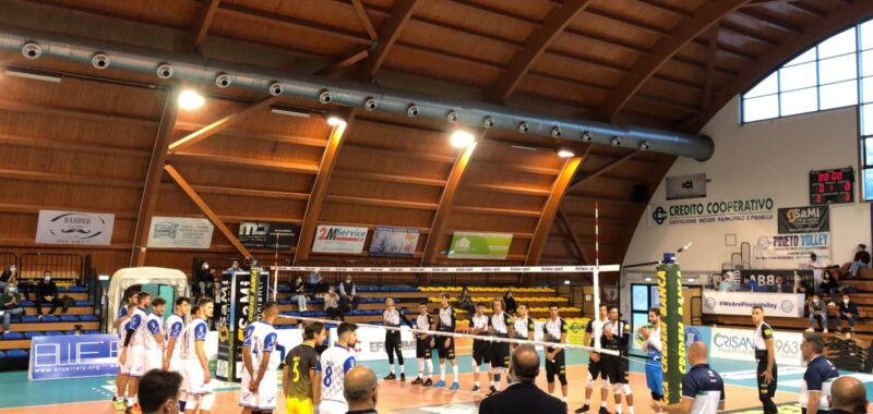 Un miracolo a metà per la Gis Ottaviano! Cade a Pineto 3-2 e guadagna il primo punto del campionato