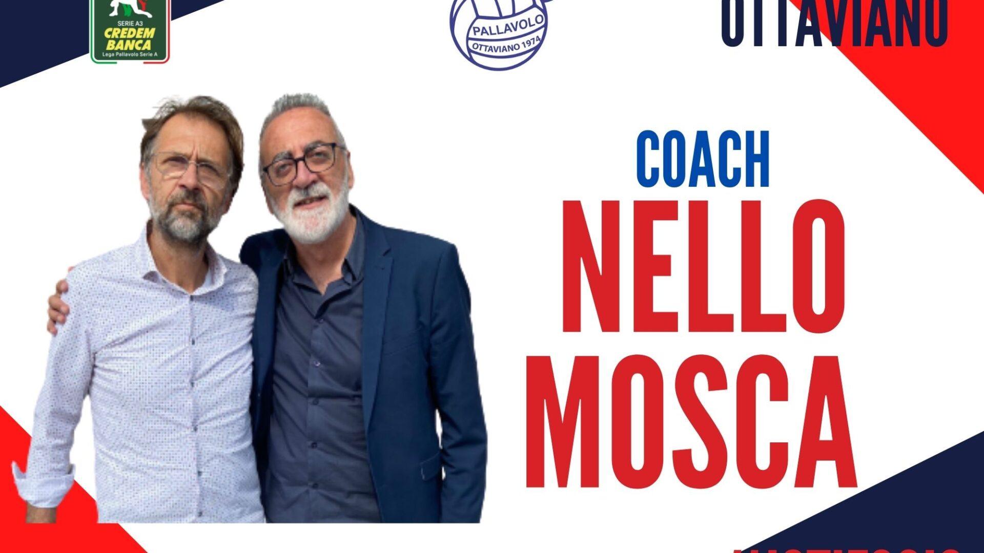 """Nello Mosca confermato allenatore della Gis Ottaviano! """"Ottaviano è la città del mio cuore, saremo ambiziosi"""""""