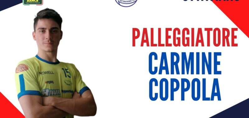 """Carmine Coppola alla corte di Coach Mosca! """"Entusiasta di avere accanto giocatori di assoluto livello"""""""
