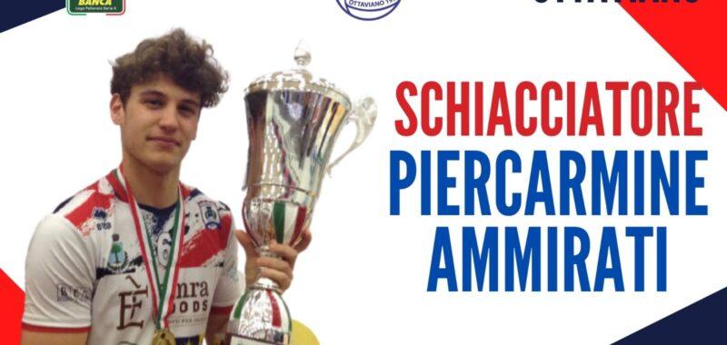 """Dal Minivolley alla Serie A! Corferma per Piercarmine Ammirati alla Gis:"""" Un sogno sempre più bello"""""""