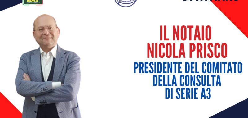 Il notaio Nicola Prisco eletto Presidente del Comitato della Consulta di Serie A3 della Lega Pallavolo